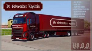 DE Gebroeders Kapitein Skin For Schwarzmuller for Euro Truck Simulator 2