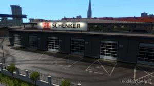 DB Schenker Garage [1.36] for Euro Truck Simulator 2
