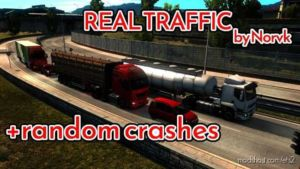 Realistic Traffic Density With Random Crashes [1.36.X] for Euro Truck Simulator 2