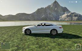 Mercedes S500 Coupe for Farming Simulator 2019