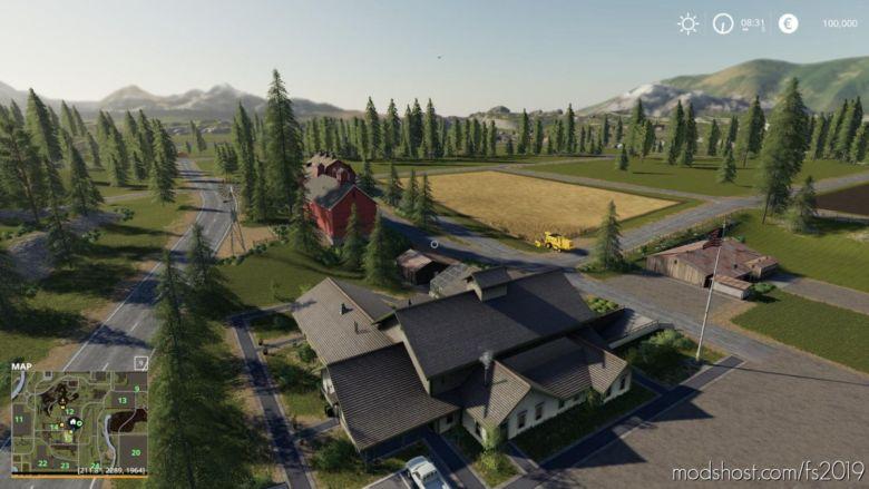 Valley Crest Farm 4X V1.2 for Farming Simulator 2019