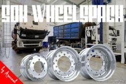50K Wheelspack -Updated- By Anarook [1.36.X] for Euro Truck Simulator 2