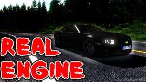 Chevrolet Camaro 2013 [Real Engine] [1.36.X] for Euro Truck Simulator 2