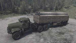 Kraz-255B Truck V21.03.20 for MudRunner