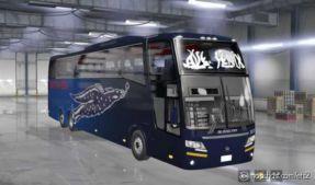 Busscar 400 V2 ATS & ETS2 [1.36] for Euro Truck Simulator 2