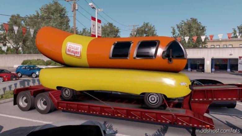 Wienermobile Cargo [1.36.X] Trailer for American Truck Simulator