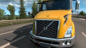 Volvo VNL 2018 In Traffic [1.35+] for Euro Truck Simulator 2