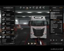 Addons For Iveco S-Way for Euro Truck Simulator 2
