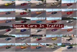 Sport Cars Traffic Pack By Trafficmaniac V5.8 for American Truck Simulator
