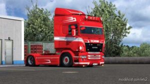 MPT Style Paintable Skin For Scania RJL for Euro Truck Simulator 2