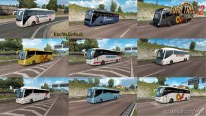 Busses In Traffic Pack V9.1 [1.36.X] for Euro Truck Simulator 2