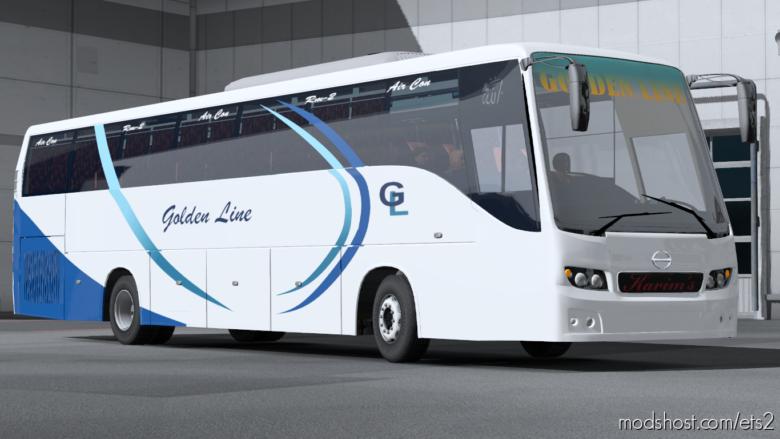 Mod BUS Hino RM2 V.2.0 For 1.31-1.35 for Euro Truck Simulator 2