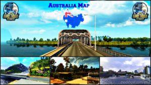 Australia (Tasmania) Map V5.3 -Fixed- [1.36.X] for Euro Truck Simulator 2