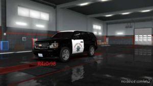 Highway Patrol Skin For Chevrolet Tahoe 2007 for Euro Truck Simulator 2