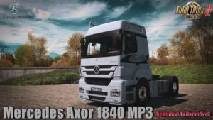 Mercedes Axor 1840 MP3 V1.1 By Harun Aras [1.36.X] for Euro Truck Simulator 2