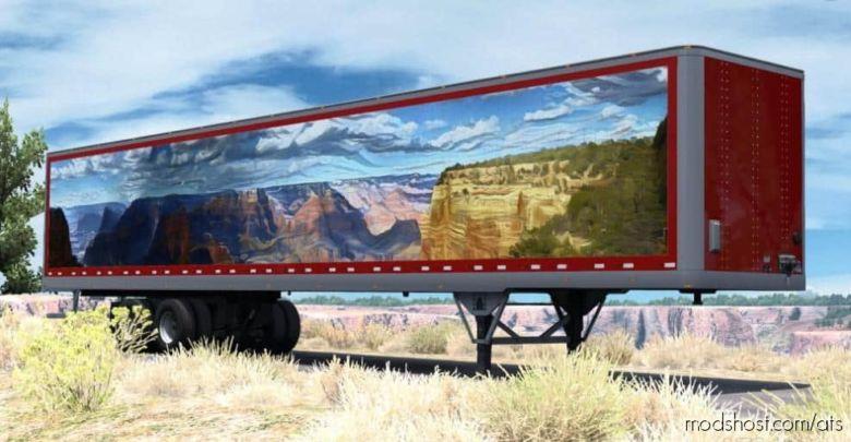 Canyon Trailer Skin for American Truck Simulator