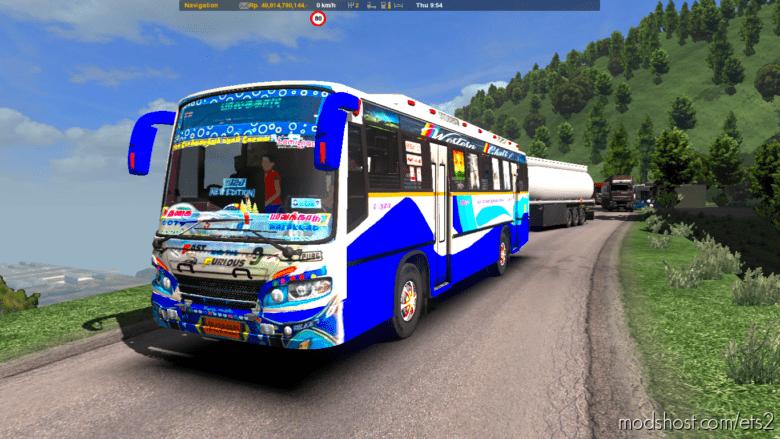 Tamilnadu Ooty To Palakkad BUS Mod for Euro Truck Simulator 2