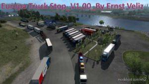 Europa Truck Stop By Ernst Veliz for Euro Truck Simulator 2