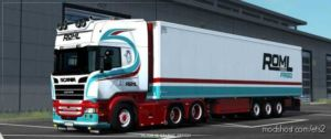 Roml Cargo Frigo Skinpack for Euro Truck Simulator 2