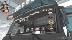 Glassstickers For Your Truck [1.36] for Euro Truck Simulator 2