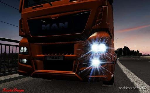 MAN TGX FOG Lights [1.36.X] for Euro Truck Simulator 2