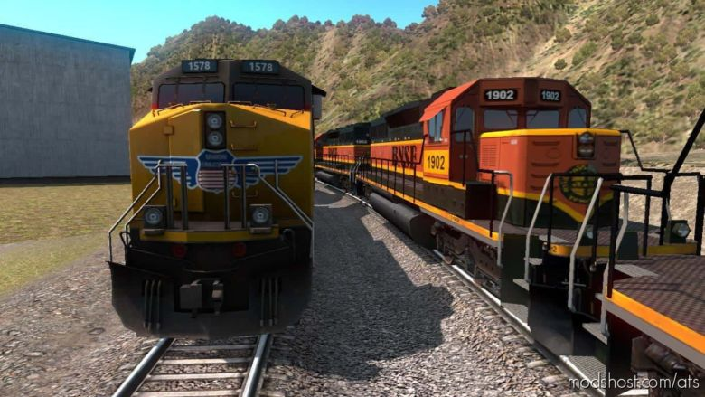 Improved Trains V3.4 Prerelease V1.37.0.92S Openbeta for American Truck Simulator