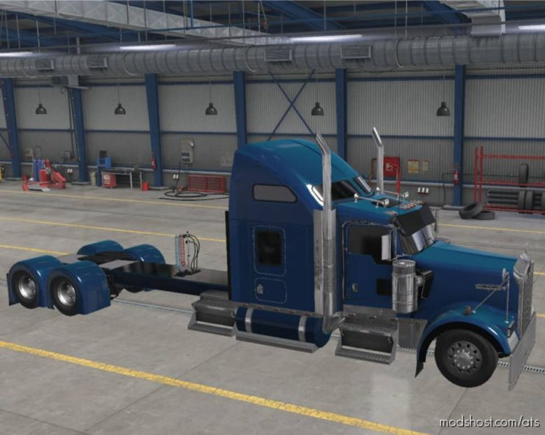 Kenworth W900 Long Truck for American Truck Simulator
