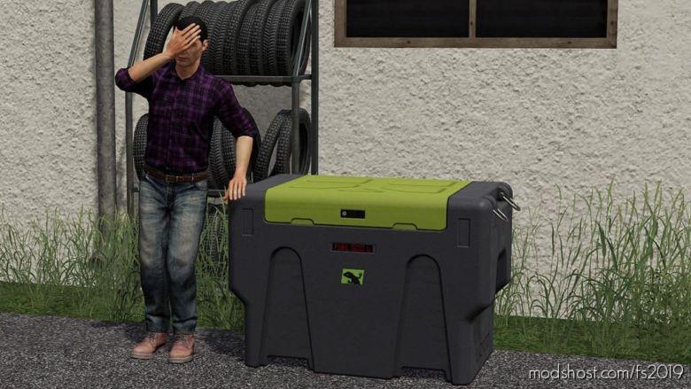 Mobile Fuel Tank for Farming Simulator 2019