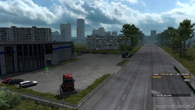 "Map ""Harsh Russian Siberia R3"" [1.36.X] for Euro Truck Simulator 2"