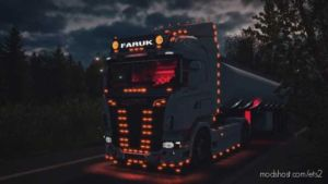 Scania Simple Edit for Euro Truck Simulator 2