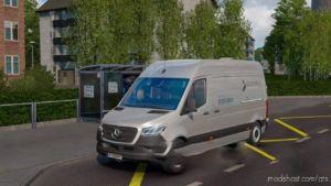 Mercedes Sprinter 2019 V0.1 Beta for American Truck Simulator