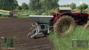 Fertilizer Spreader D028/4 V4.0 for Farming Simulator 2019