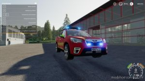 Subaru Forester Kdow for Farming Simulator 2019