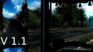 Better Rain Effects [1.36] V1.1 for Euro Truck Simulator 2
