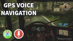 Traian GPS Voice – Romanian [1.36.X] for Euro Truck Simulator 2