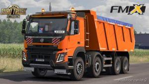 Volvo FMX Kipper Rework By Mistersix V1.7 [Megamod] [1.36.X] for Euro Truck Simulator 2