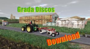 Disc Harrow RED for Farming Simulator 2019
