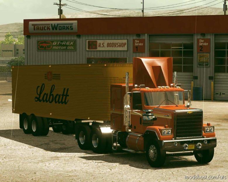 Fruehauf Dryvan 1951 [1.36] for American Truck Simulator
