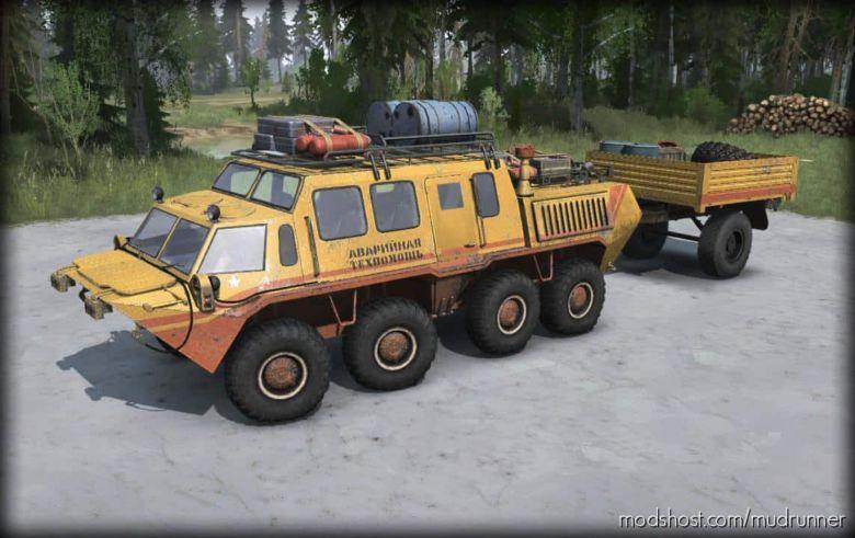 GAZ-59037 Mod V1.1 for MudRunner