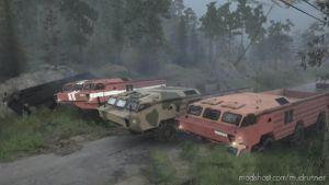 BAZ-5921/5922 Truck for MudRunner