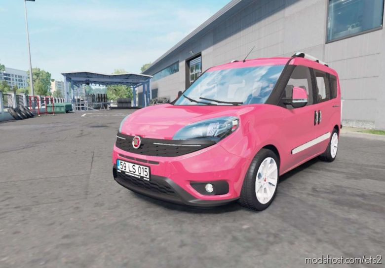 Fiat Doblo (152) 2015 V1.4 (1.36.X) for Euro Truck Simulator 2