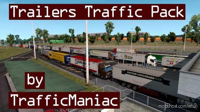 Trailers Traffic Pack By Trafficmaniac V4.0 for Euro Truck Simulator 2