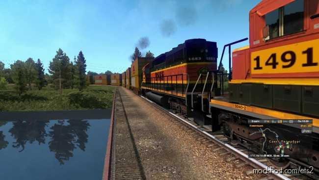 American Improved Trains V3.3 for Euro Truck Simulator 2