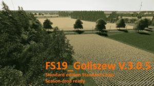 Goliszew Standard Edition Standard Crops V3.0.5 for Farming Simulator 19