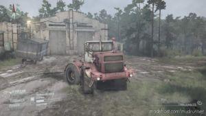K-700 Tractor V0.1 for MudRunner