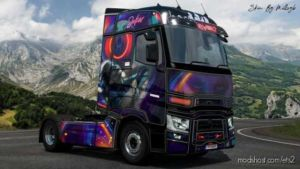 Joker Renault T Range Skin for Euro Truck Simulator 2