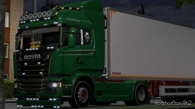 Scania Simple Turkish JOB [1.36.X] for Euro Truck Simulator 2