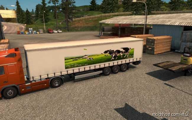 Skin Milk for Euro Truck Simulator 2