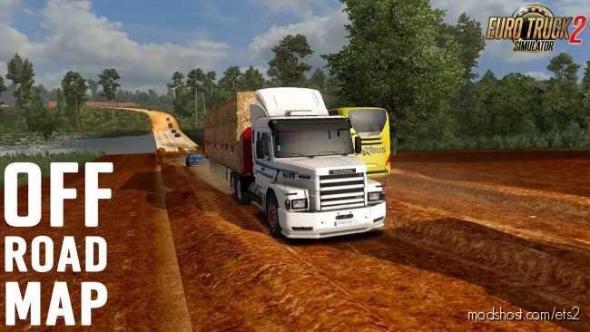 Brazil North Map V4.1 for Euro Truck Simulator 2