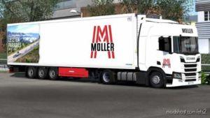 Krone Cool Liner Mega Skin Pack V1.6 for Euro Truck Simulator 2